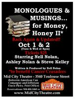 """Nell Nolan's """"Monologues & Musings...for Money, Honey..."""