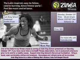 "Zumba Event ""Acts King School Fundraiser"""