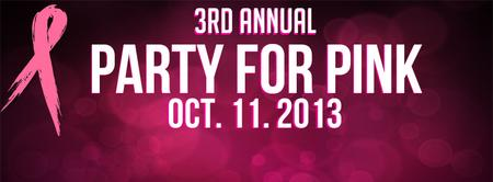3rd Annual Party for Pink