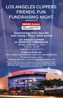 Los Angeles Clippers. Friends. Fun. Fundraising Night.