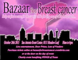 Bazaar for Breast Cancer Charity Event
