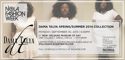Dama Talya S/S '14 Collection at NOLAFW