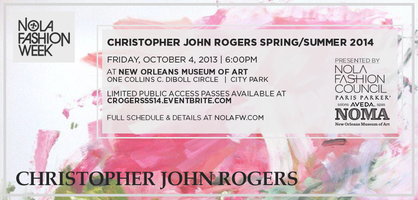 Emerging Designer: Christopher Rogers at NOLAFW