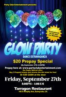Let's Celebrate at the GLOW Party Dance Extravaganza!