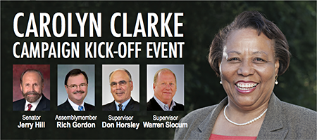 Carolyn Clarke for Menlo Park Fire Protection District...