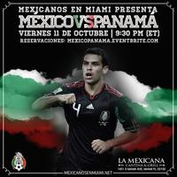 México vs Panamá - Watch Party