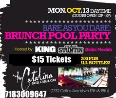 10/14  MIAMI CARNIVAL 2013 NBA POOL PARTY @ CATALINA...