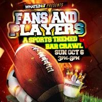 Whats2Hot Sports Theme Bar Crawl Oct 6th Downtown...