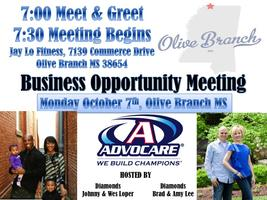 Advocare Business Opportunity Meeting-North...