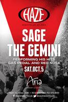 Sage the Gemini Performs Live  at HAZE Nightclub