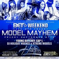 Model Mayhem BET weekend Kick Off Friday at Harlem Nigh...