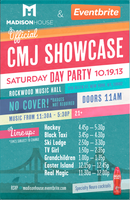 Madison House & Eventbrite Official CMJ Day Party @...