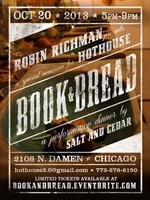 Book and Bread, a performance dinner in honor of...