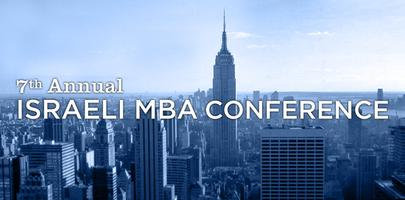 7th Israeli MBA Conference