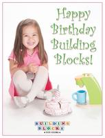 Building Blocks Birthday Party Craft Activity, Wicker...