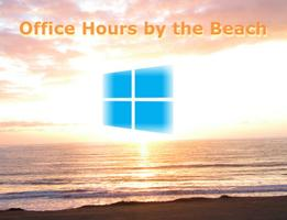 Office Hours by the Beach with Windows 8