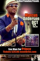 Marcus Anderson Live at Jazzy Brown's