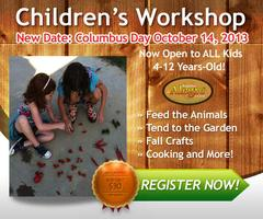 Children's Workshop - Now Open to ALL Kids 4-12 on...
