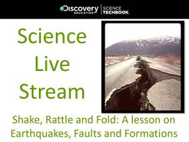 October Science Live Stream: Shake, Rattle and Fold