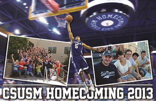 CSUSM Homecoming BBQ & Basketball Game 2013
