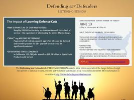 Defending Our Defenders - Listening Session