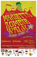 3rd annual Marietta Zombie Walk benefiting MUST...