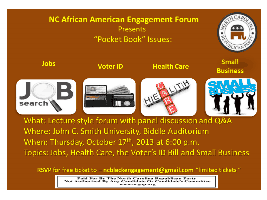 NC African American Engagement Forum