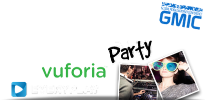 ★ Pocket Gamer Party @ GMIC with Qualcomm Vuforia &...
