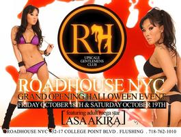Asa Akira at RoadHouse Grand Opening Halloween Party -...