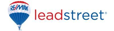 RE/MAX Real Estate Specialists LeadStreet Training
