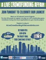 A LIVE Crowdfunding Affair hosted by FundDat at NOLATec...