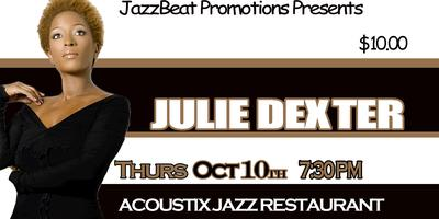 Julie Dexter Live at Acoustix Jazz