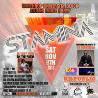Stamina - WU Black Alumni Homecoming Finale Party