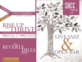 Rise Up & Thrive:  A Benefit for SBCC