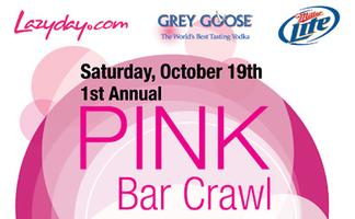 1st Annual Pink Bar Crawl