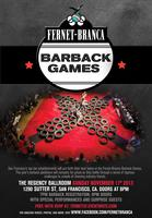 Fernet-Branca Barback Games 2013 - San Francisco