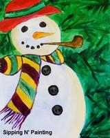 Sip n' Paint Frosty: Tuesday December 17th, 6pm