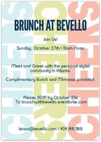 BRUNCH WITH BEVELLO