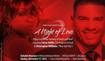A Night of Love with Terisa Griffin & Christopher...