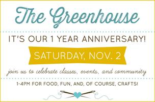 Greenhouse Anniversary Party