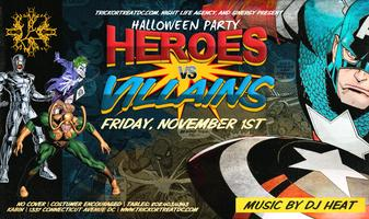 Heroes VS Villains Halloween Party