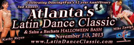 3rd Annual Latin Dance Classic + Halloween Latin Dance...