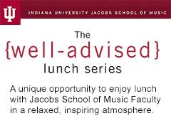 Well-Advised Lunch Series - Steve Zegree and Thomas...