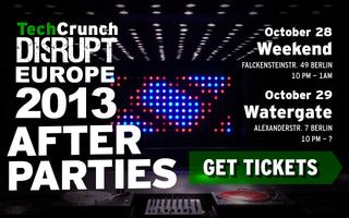 TechCrunch Disrupt Europe Monday After Party