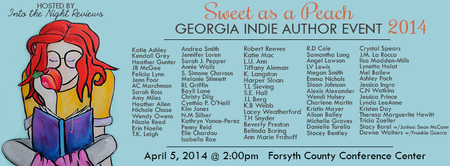 GA Indie Author Event 2014-Sweet as a Peach
