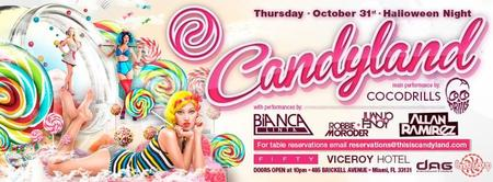 CANDYLAND HALLOWEEN EVENT - **** COCODRILLS @FIFTY****...