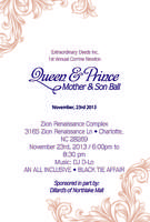 1st Annual Corrine Newton Queen and Prince Mother &...