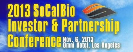 15th Annual SoCalBio Investor & Partnership Conference