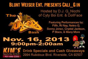 Blunt Weiser Ent. Presents Cali_G in the Jive Turkey...
