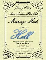 """""""Marriage Made in HELL!""""  Comedy Screenplay Reading &..."""